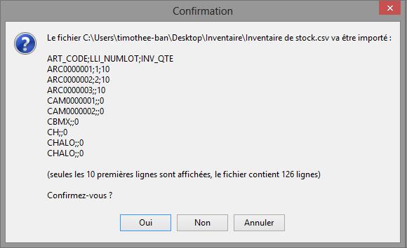 [object object] L' inventaire annuel des stocks avec le logiciel GESTIMUM Gestion Commerciale Inventaire Gestimum Image 14
