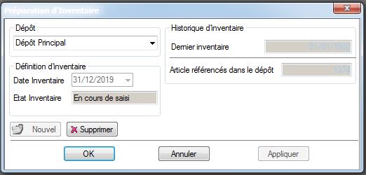 [object object] L' inventaire annuel des stocks avec le logiciel AGL Gestion Commerciale Inventaire Image 02