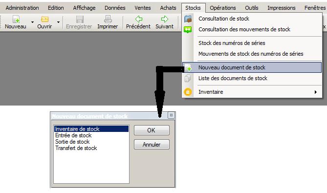 [object object] L' inventaire annuel des stocks avec le logiciel AGL Gestion Commerciale Inventaire Image 03