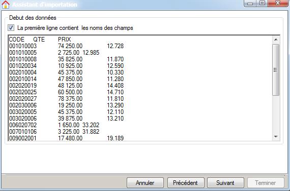 [object object] L' inventaire annuel des stocks avec le logiciel AGL Gestion Commerciale Inventaire Image 10